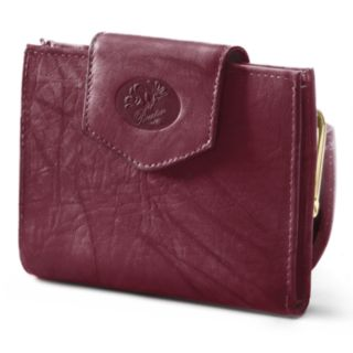 Buxton Heiress Cardex Floral Leather Wallet