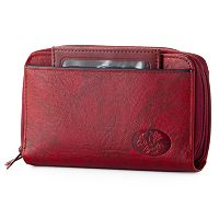 Buxton Organizer Heiress Leather Wallet