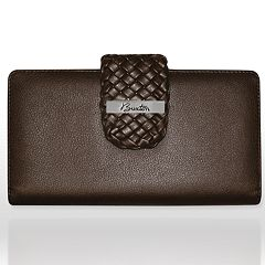 Buxton Hailey Braided Superwallet