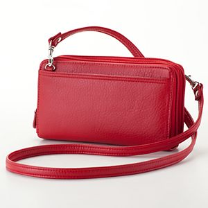 e5d493da2c Buxton Organizer Mini Crossbody Bag