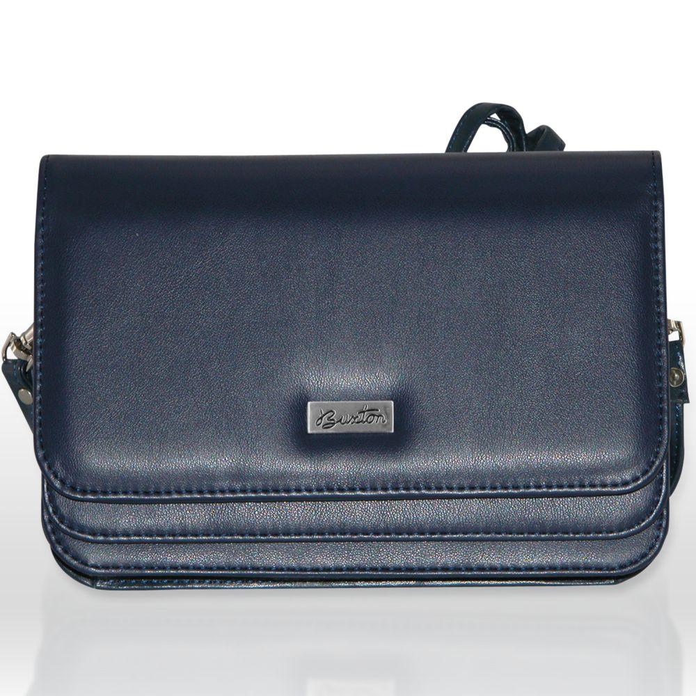 Double-Flap Convertible Shoulder Bag