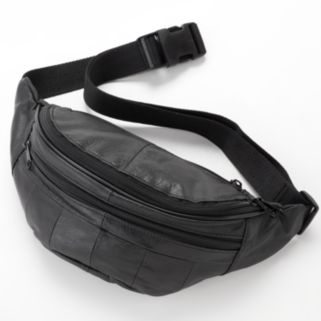 Buxton Leather Fanny Pack