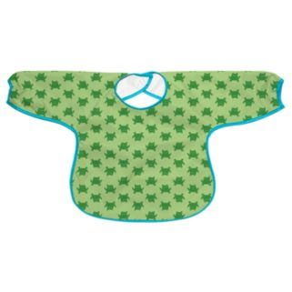 Green Sprouts by i play. Frog Waterproof Bib - Toddler