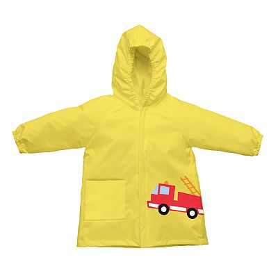 i play. Firetruck Fold-Up Waterproof Raincoat - Toddler