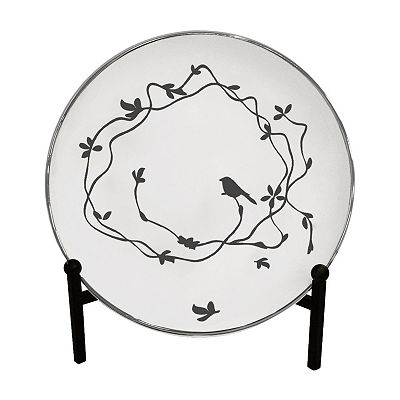 ELLE DECOR Decorative Plate with Stand