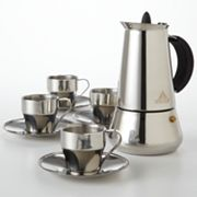 IMUSA 9-pc. Stainless Steel Espresso Set