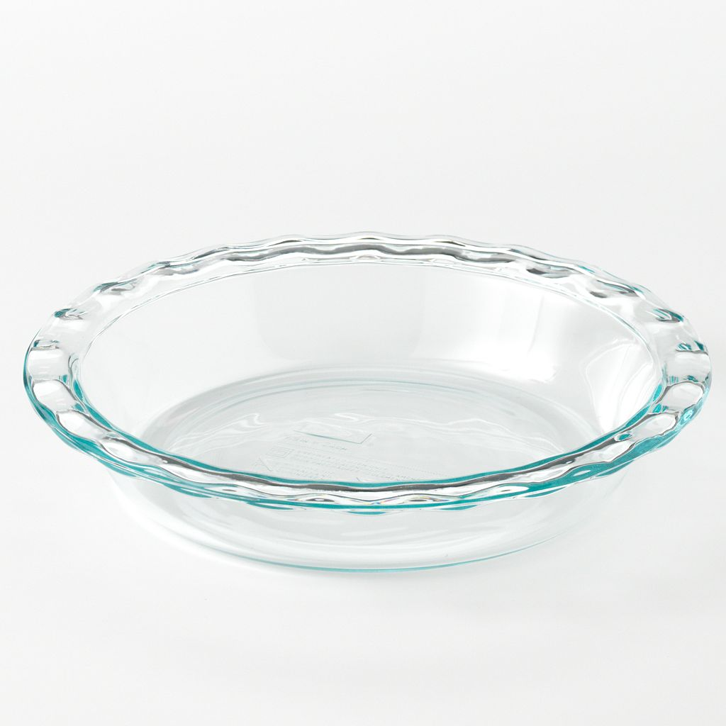 Pyrex Cooking Solved Glass Pie Plate