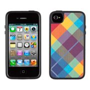 Speck iPhone 4/4S Plaid FabShell Hard Case