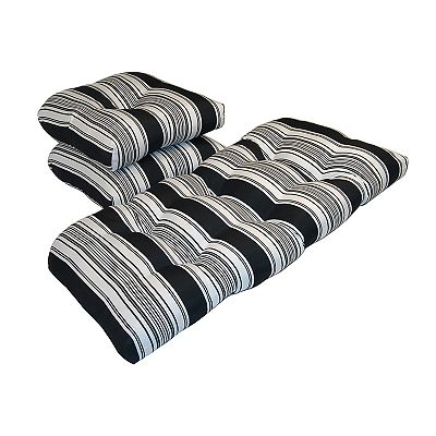 Tempo Products Striped 3-pc. Outdoor Cushion Set