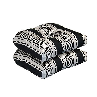 Tempo Products Striped 2-pc. Outdoor Cushion Set