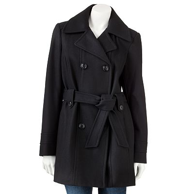 Croft and Barrow Wool Peacoat
