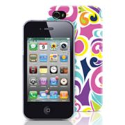 Merkury Innovations iPhone 4/4S Pourpre Hard Case