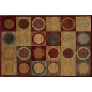 Momeni Checkers Rug - 3'11'' x 5'7''