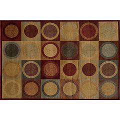 Momeni Checkers Rug - 5'3' x 7'6'