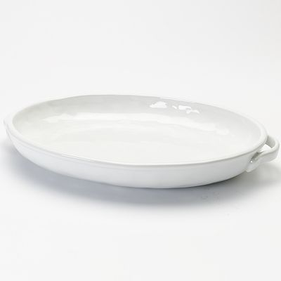 Food Network Textured Oval Platter