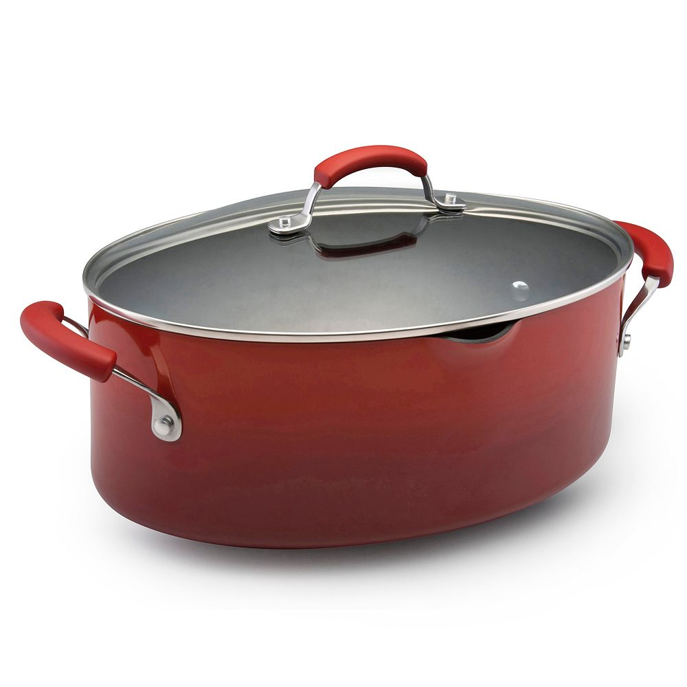 Rachael Ray® 8-qt. Nonstick Oval Pasta Pot