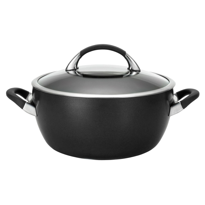 circulon 5 12qt nonstick covered casserole
