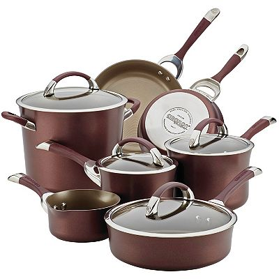 Circulon Chocolate 11-pc. Cookware Set