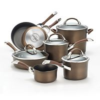 Circulon Symmetry 11 pc Hard-Anodized Nonstick Cookware Set