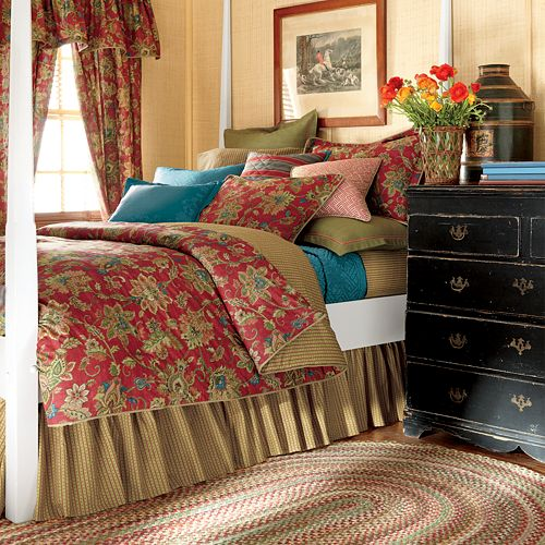 chaps king comforter set Chaps Annabelle 4 pc. Comforter Set   Cal. King chaps king comforter set