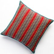 Chaps Annabelle Striped Square Decorative Pillow