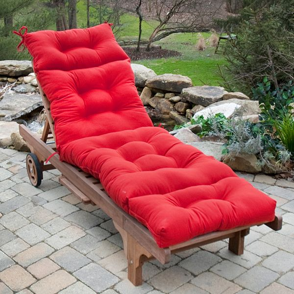 kohls solid outdoor chaise lounge chair cushion questions answers how to faqs. Black Bedroom Furniture Sets. Home Design Ideas