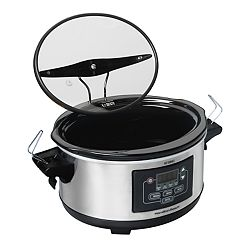 Hamilton Beach Stay or Go 6-qt. Slow Cooker with Food Warmer