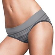 Maidenform Pure Genius Seamless Lace-Trim Bikini Panty