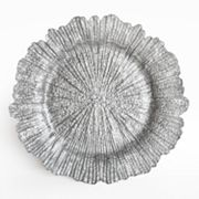 Charge It Reef Silver Charger Plate