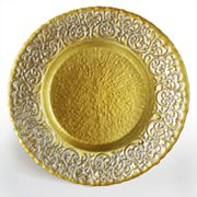 Charge It Baroque Charger Plate