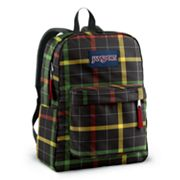 JanSport SuperBreak Rasta Plaid Backpack