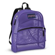 JanSport Purple Mesh Backpack