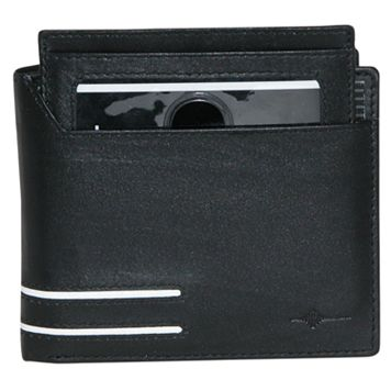 Buxton Luciano Convertible Leather Cardex Wallet