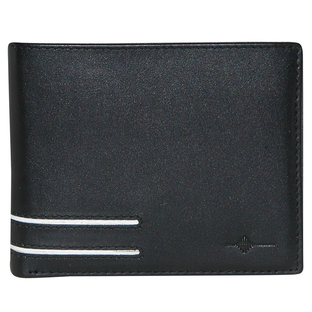 Buxton Luciano Leather Credit Card Billfold Wallet
