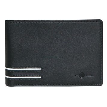 Buxton Luciano Leather Front-Pocket Slimfold Wallet