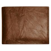 Buxton Hunt Convertible Leather Billfold Wallet