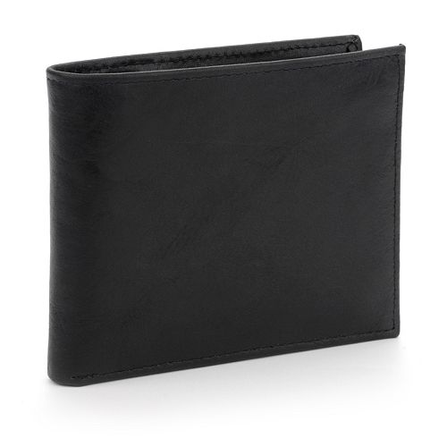 Buxton Hunt Leather Credit Card Billfold Wallet