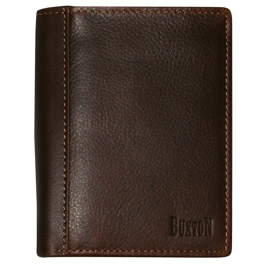 Buxton Sandokan Deluxe Leather Bifold Wallet