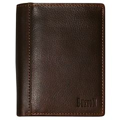 Buxton Sandokan Deluxe Leather Bifold Wallet