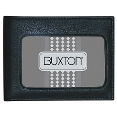 Buxton Mountaineer ID Leather Billfold Wallet