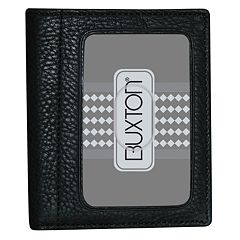 Buxton Mountaineer ID Leather Bifold Wallet