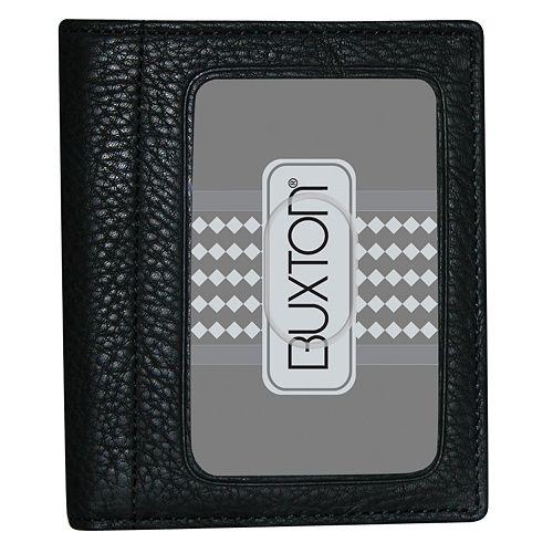 Buxton Mountaineer ID Leather Bifold Wallet