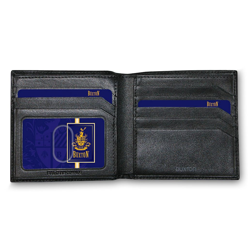 Buxton Emblem Leather Cardex Wallet