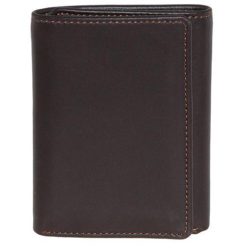 DOPP Regatta Leather Trifold Wallet