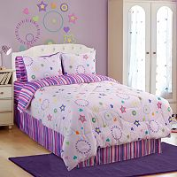 Veratex Star Dance 4 pc Comforter Set - Full