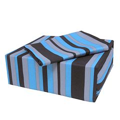 Veratex On the Edge Striped Sheet Set - Twin