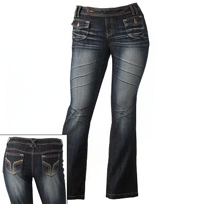 Mudd Bootcut Jeans - Juniors' Plus