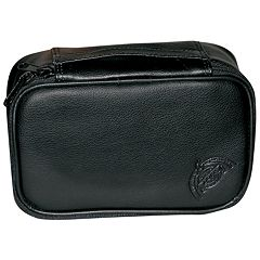 DOPP Express Mini Leather Zip-Top Travel Kit