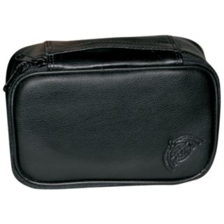 DOPP Express Mini Leather Top-Zip Travel Kit