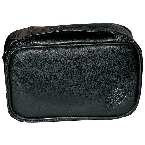 DOPP Express Mini Leather Zip-Top Travel Kit